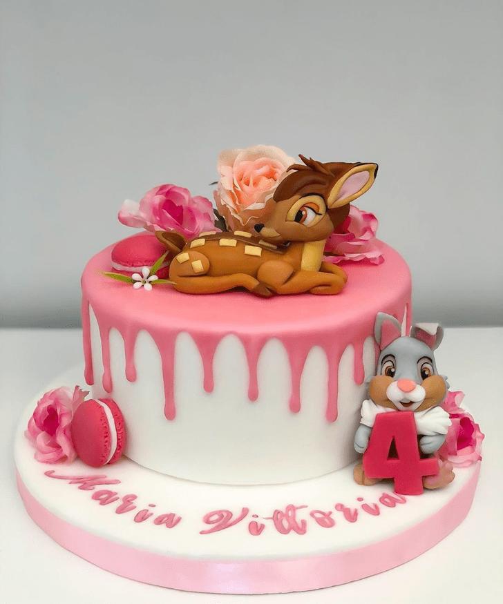 Wonderful Bambi Cake Design