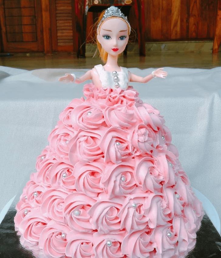 Captivating Barbie Cake
