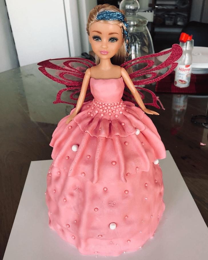 Fine Barbie Cake