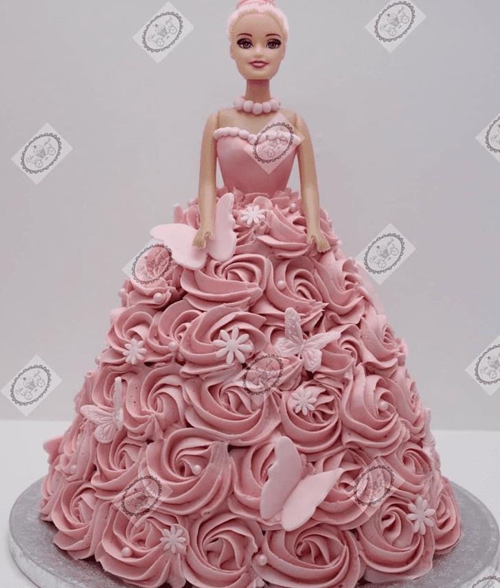 Marvelous Barbie Cake