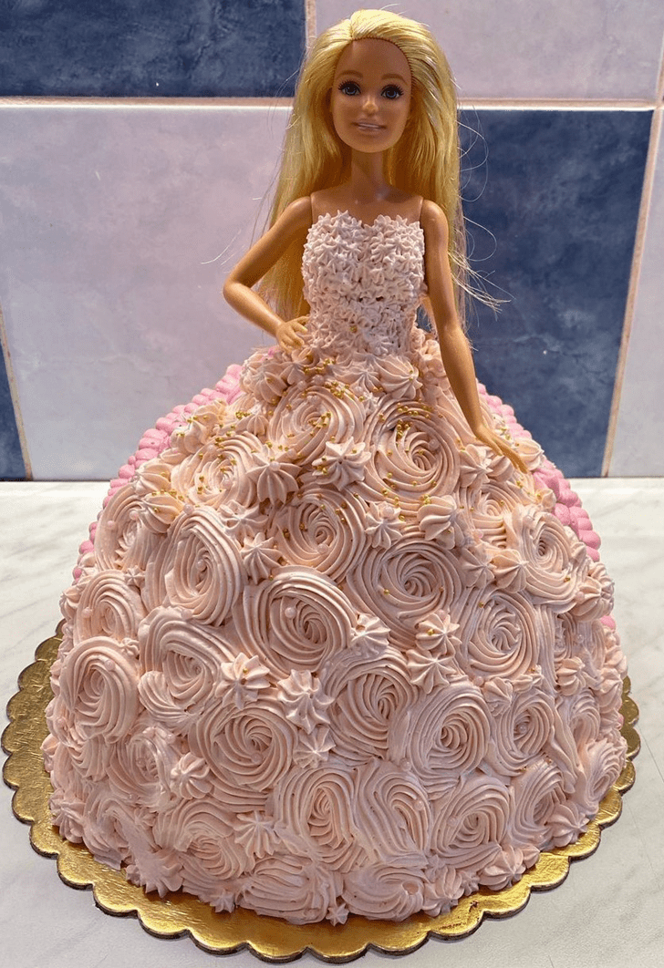 Mesmeric Barbie Cake