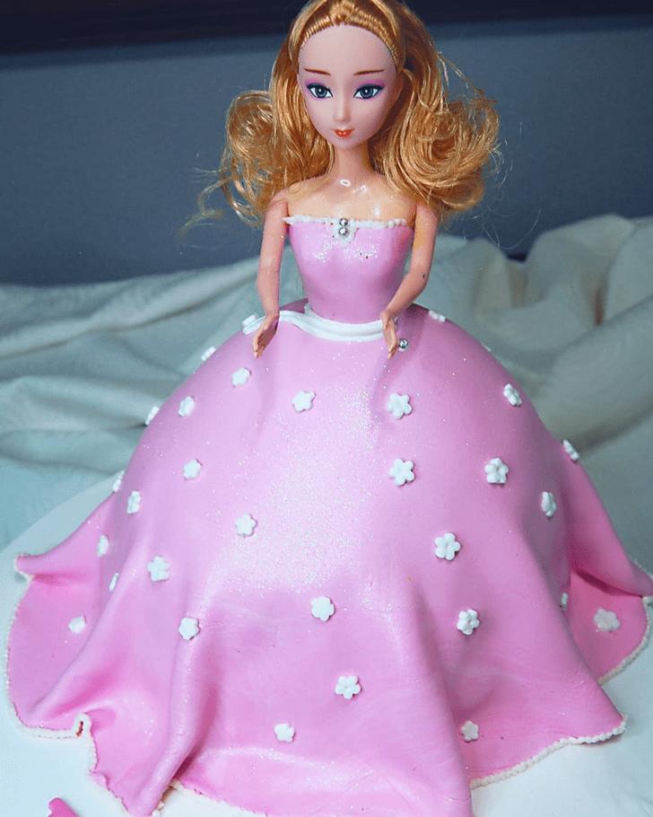 Radiant Barbie Cake