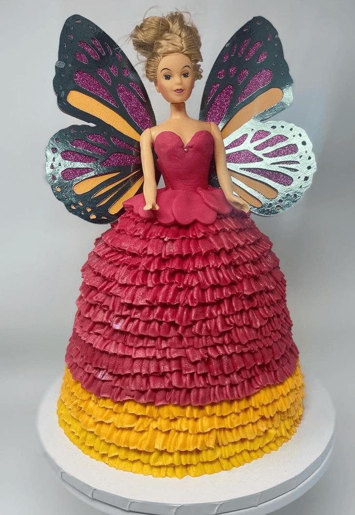 Resplendent Barbie Cake