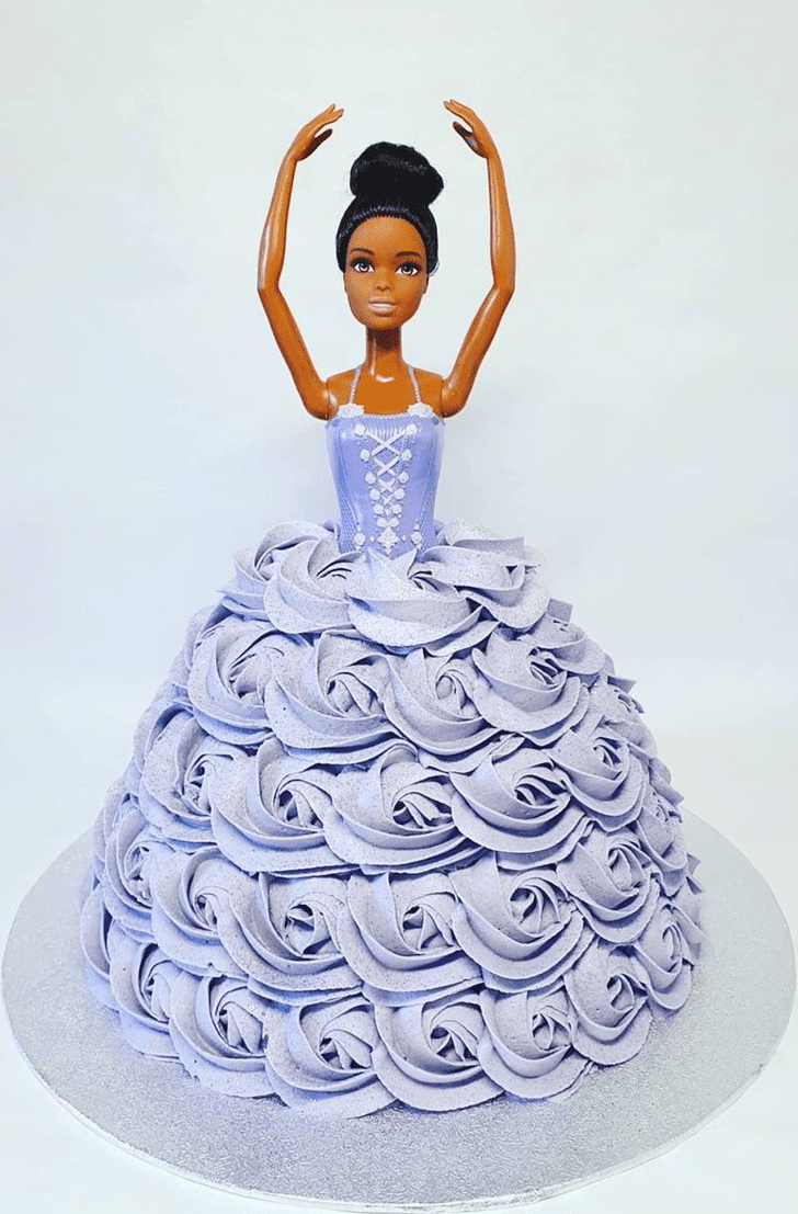 Splendid Barbie Cake