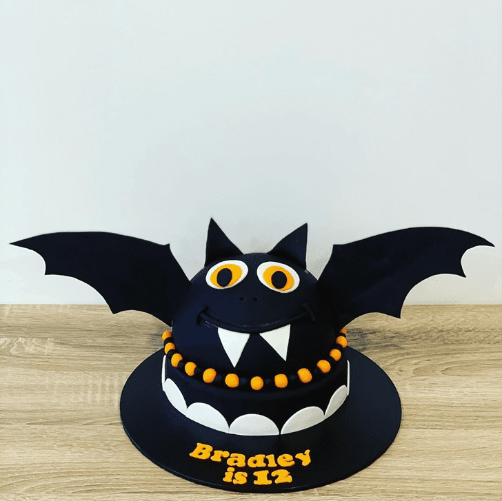 Angelic Bat Cake