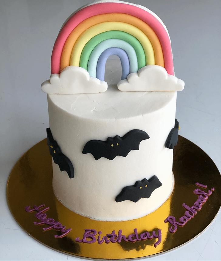 Appealing Bat Cake