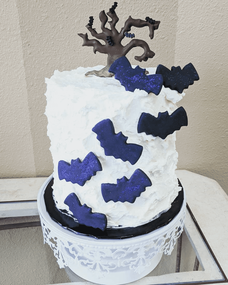 Bewitching Bat Cake