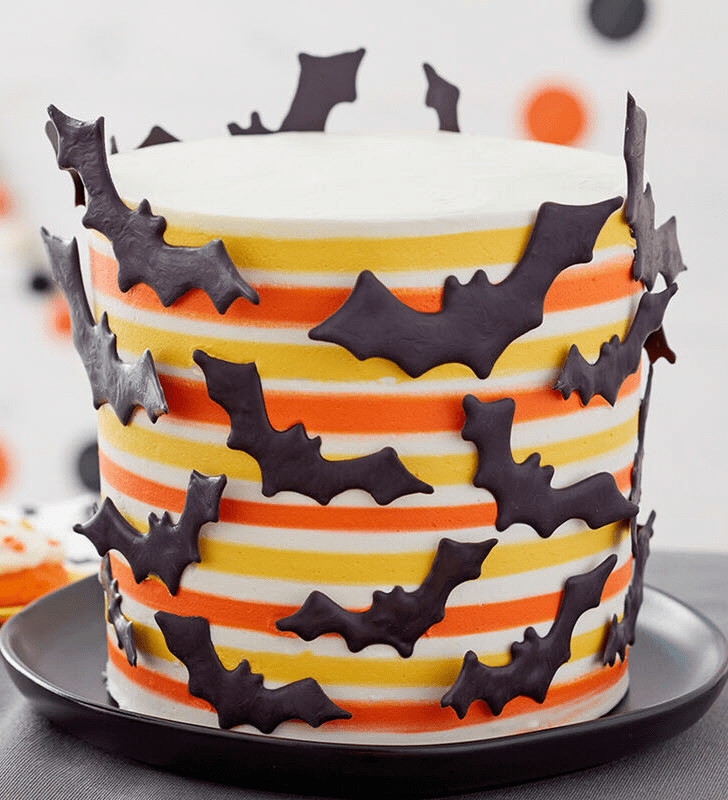 Captivating Bat Cake