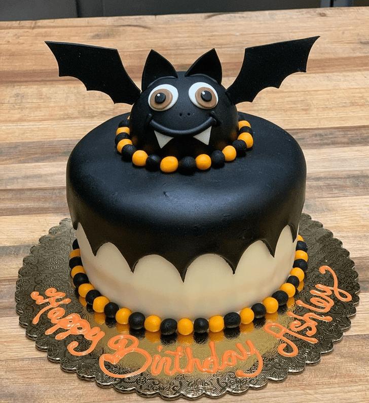 Charming Bat Cake