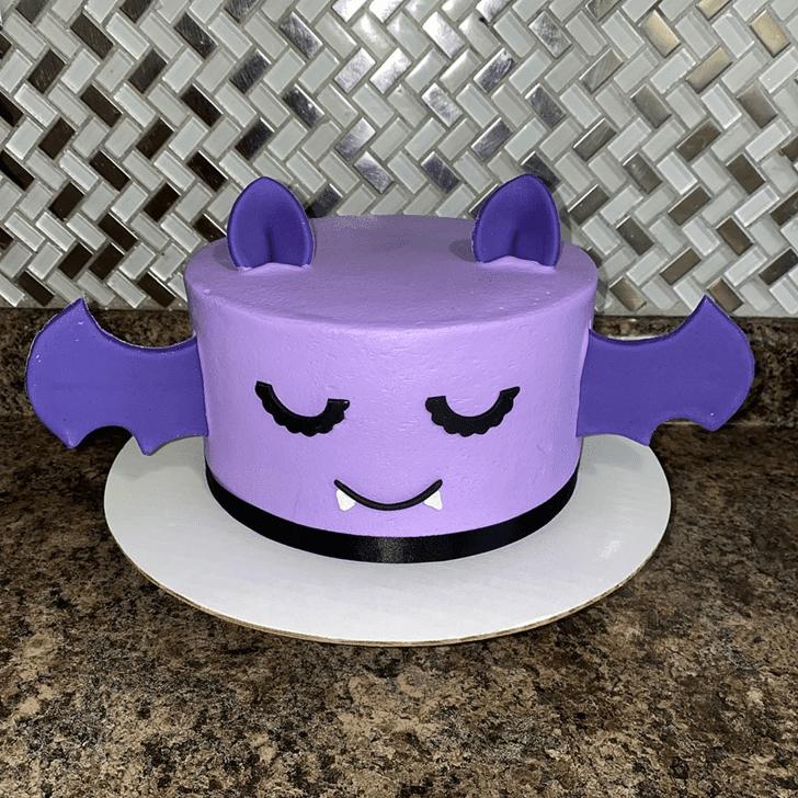 Classy Bat Cake