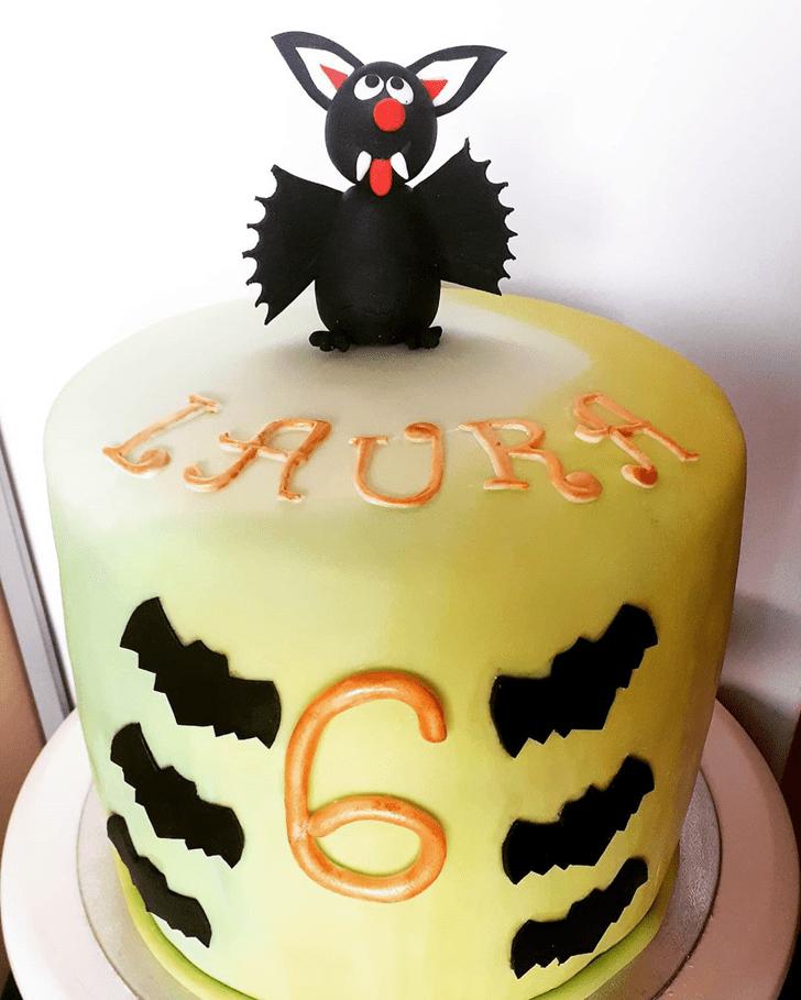 Elegant Bat Cake