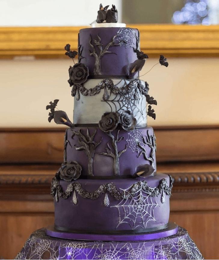 Enticing Bat Cake