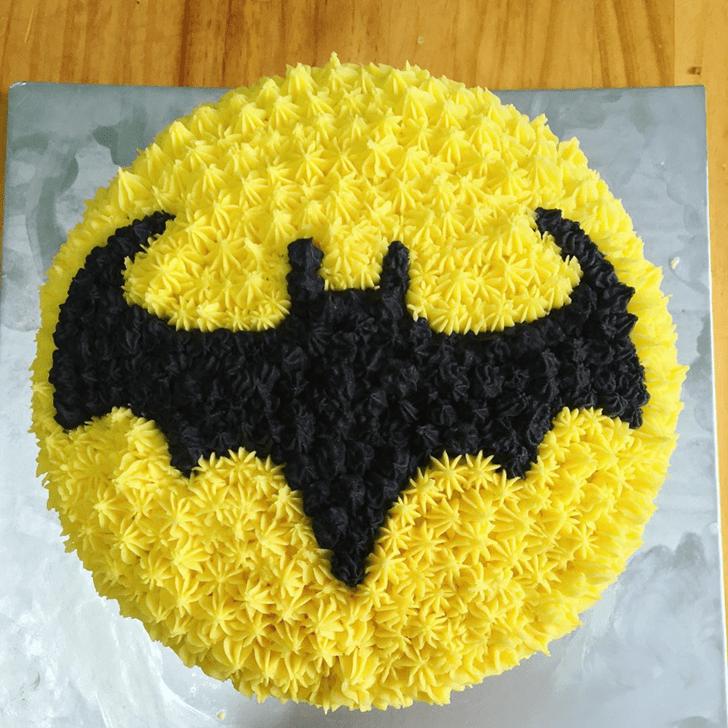 Fascinating Bat Cake