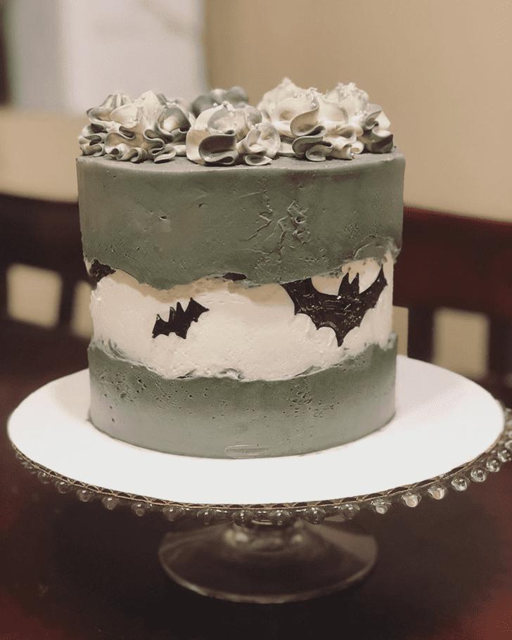 Graceful Bat Cake