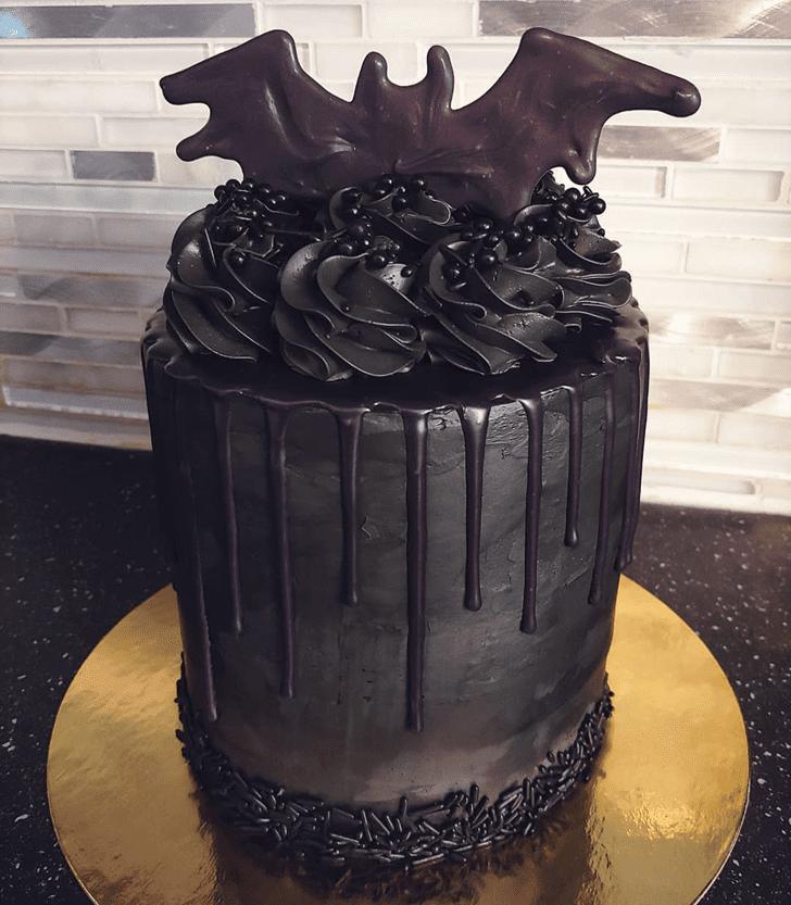 Handsome Bat Cake