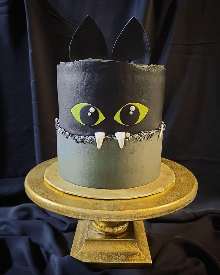 Inviting Bat Cake