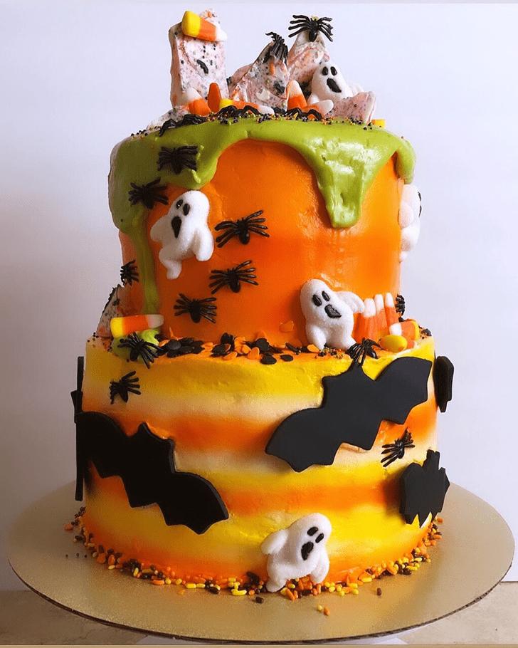 Lovely Bat Cake Design