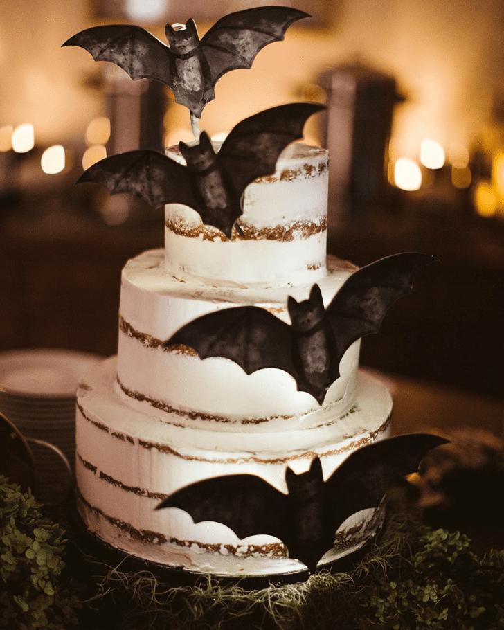 Magnetic Bat Cake