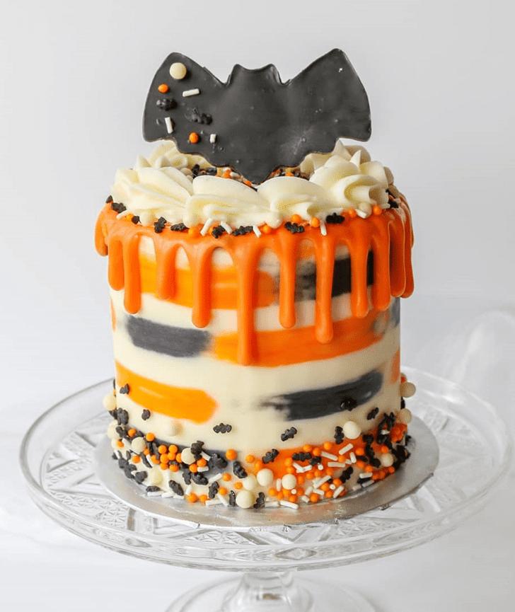 Pleasing Bat Cake