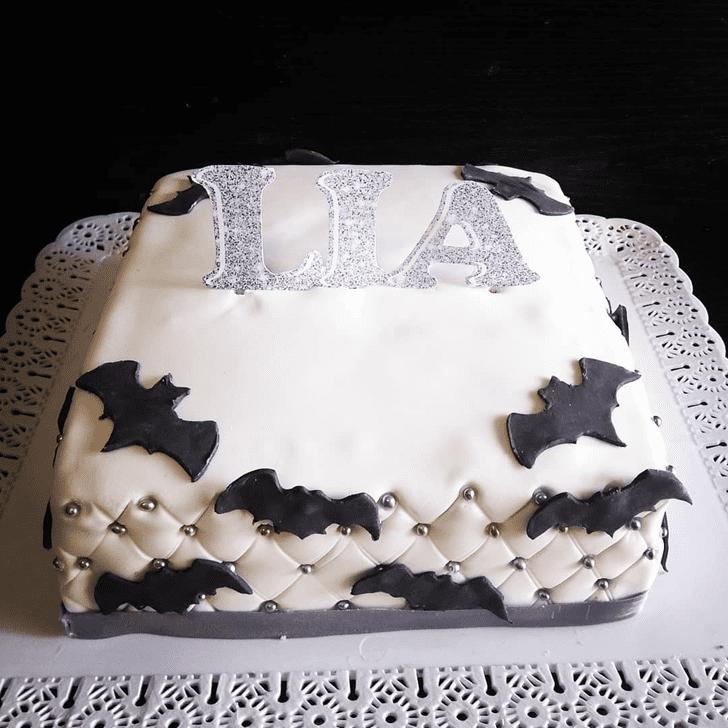 Pretty Bat Cake