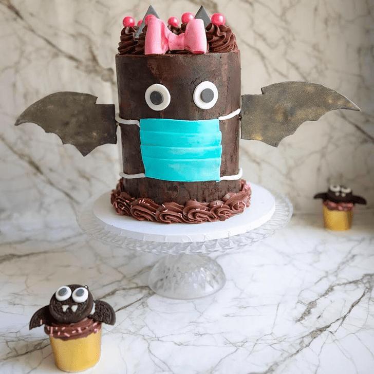 Ravishing Bat Cake