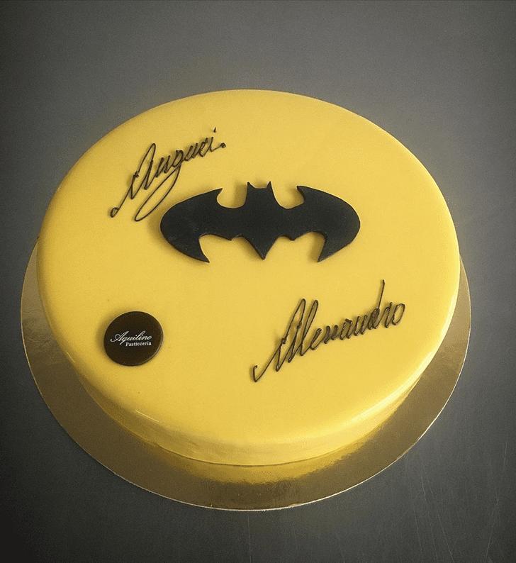 Stunning Bat Cake