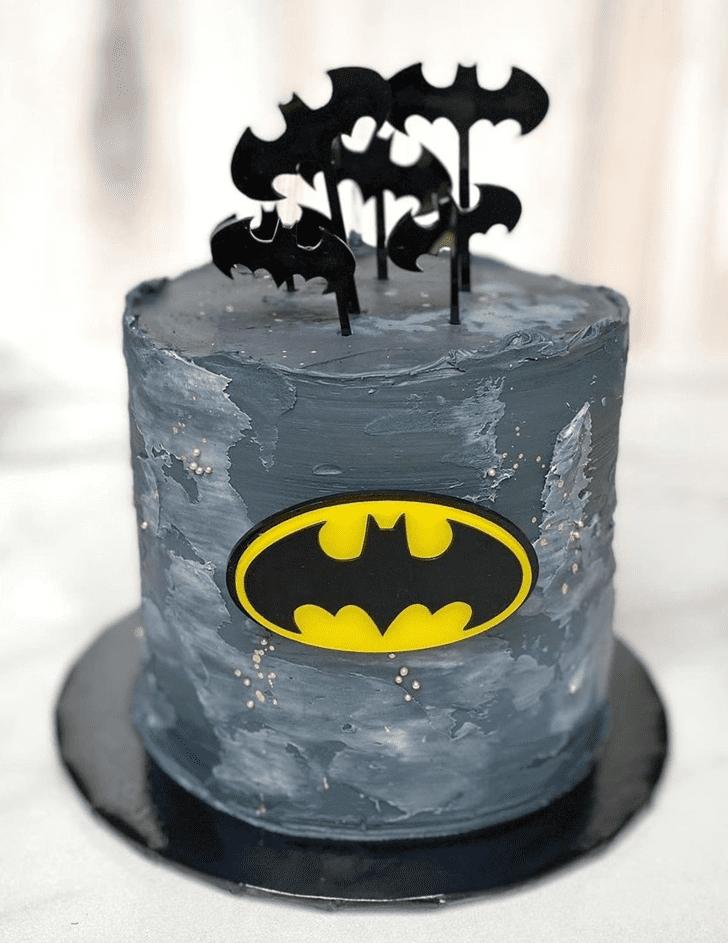 Admirable Batman Cake Design
