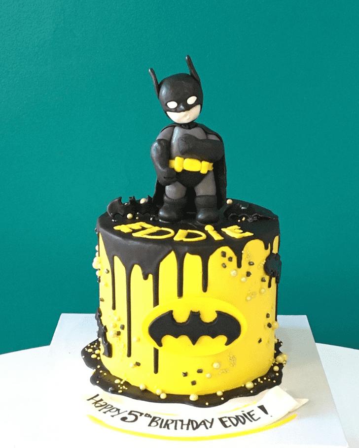 Adorable Batman Cake