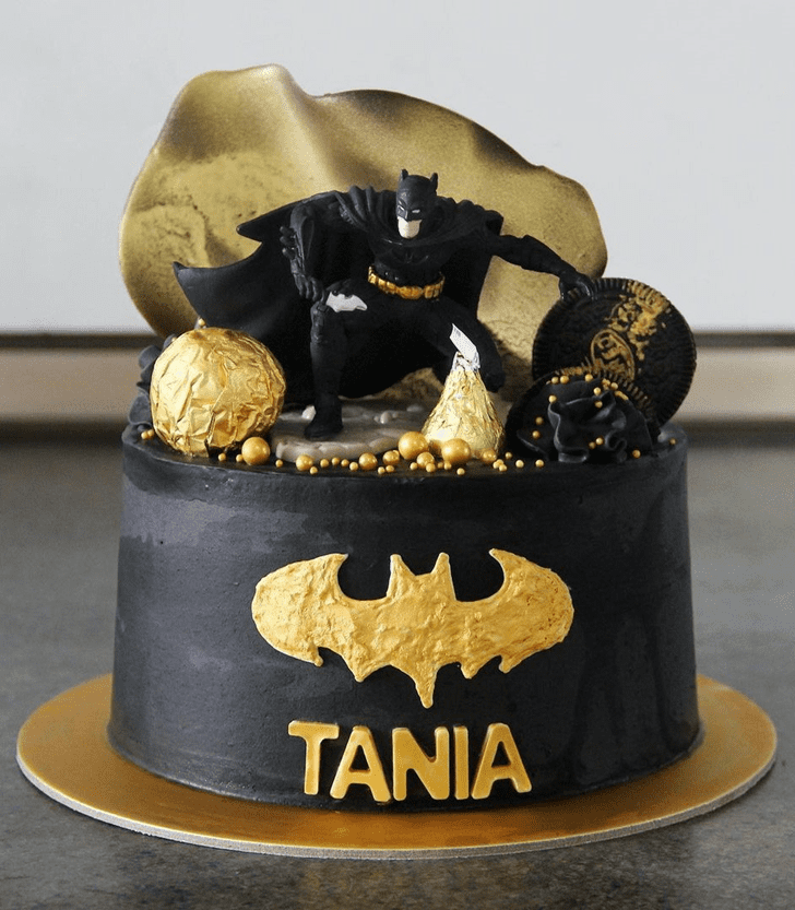Appealing Batman Cake