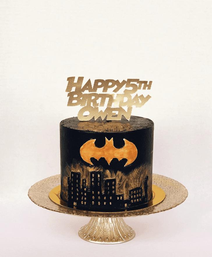 Beauteous Batman Cake