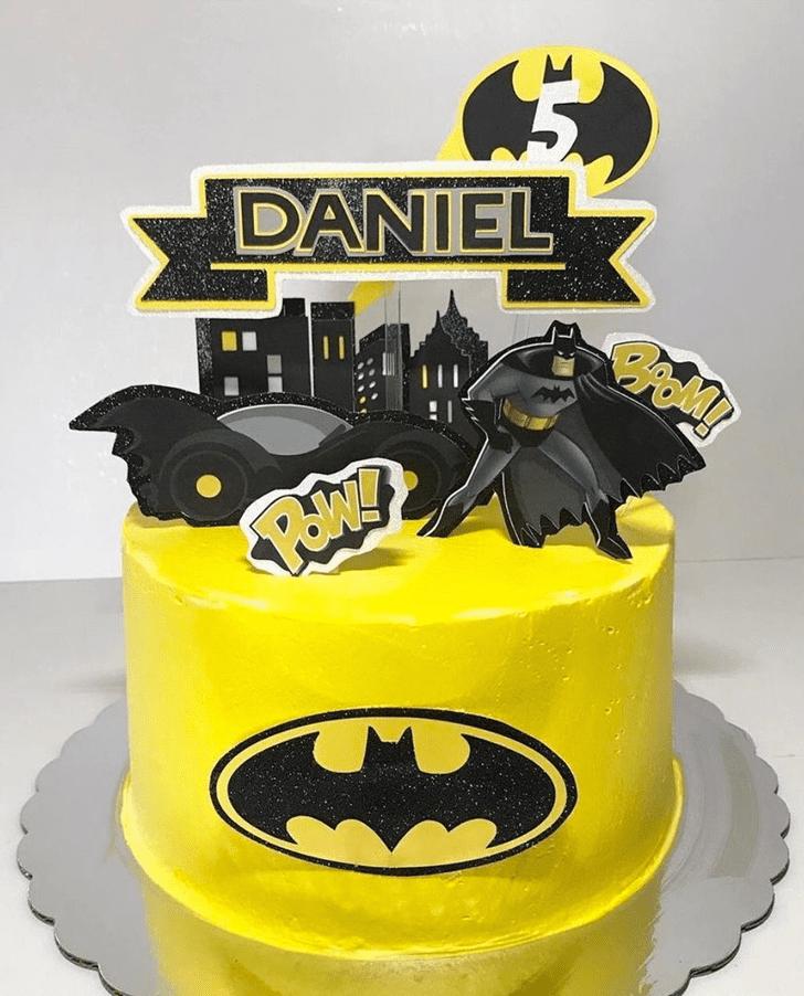 Bewitching Batman Cake