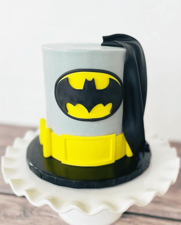 Charming Batman Cake