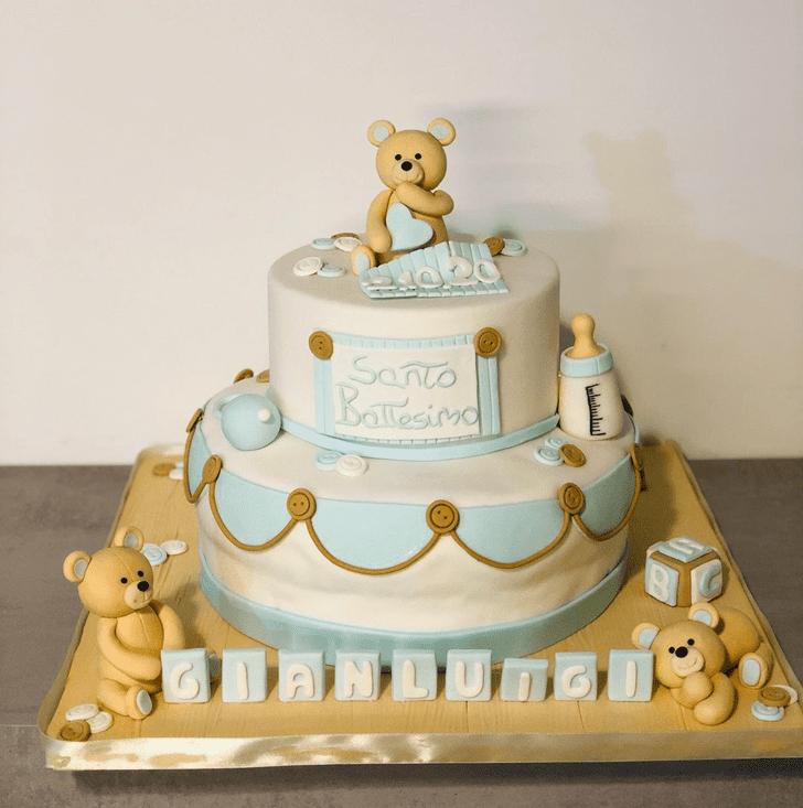 Admirable Bear Cake Design