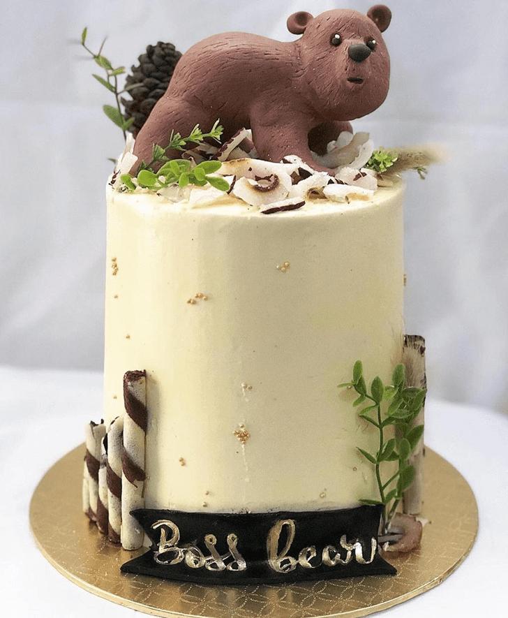 Angelic Bear Cake