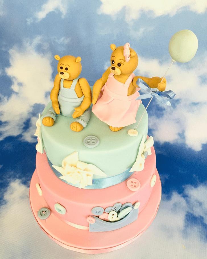 Appealing Bear Cake