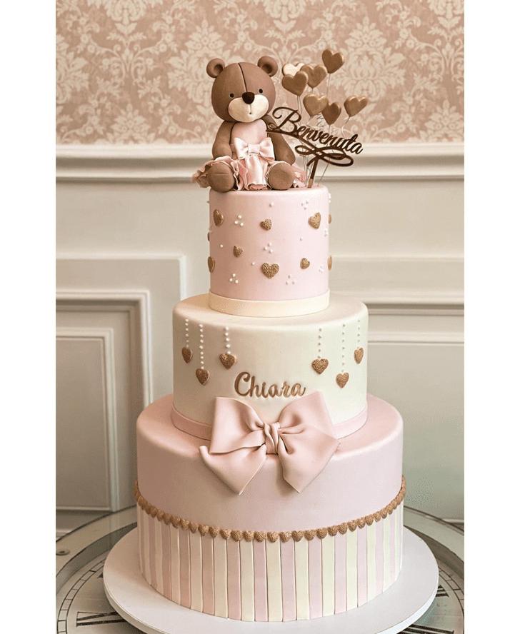Captivating Bear Cake