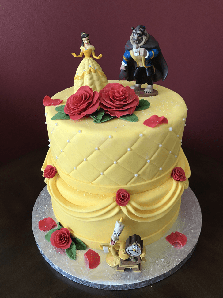 Adorable Beast Cake