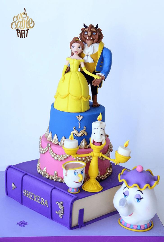 Angelic Beast Cake