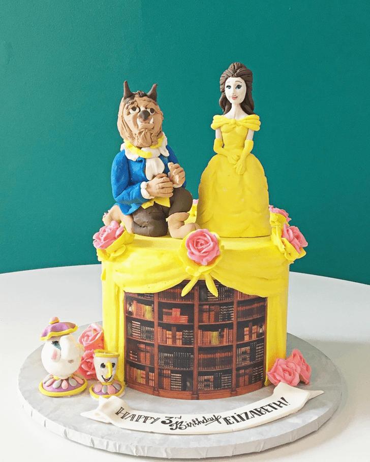Bewitching Beast Cake
