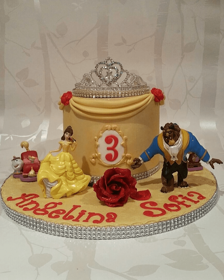 Charming Beast Cake