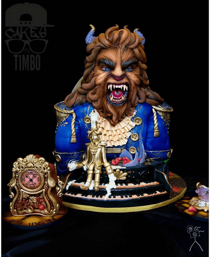 Cute Beast Cake