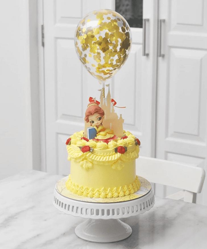 Cute Beauty and the Beast Cake
