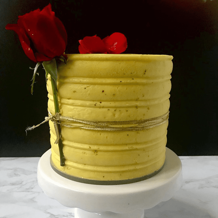 Delightful Beauty and the Beast Cake