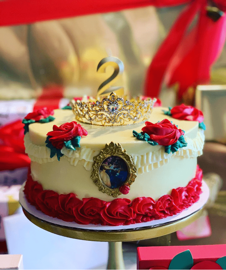 Divine Beauty and the Beast Cake