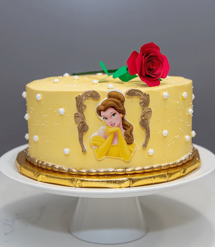 Enthralling Beauty and the Beast Cake