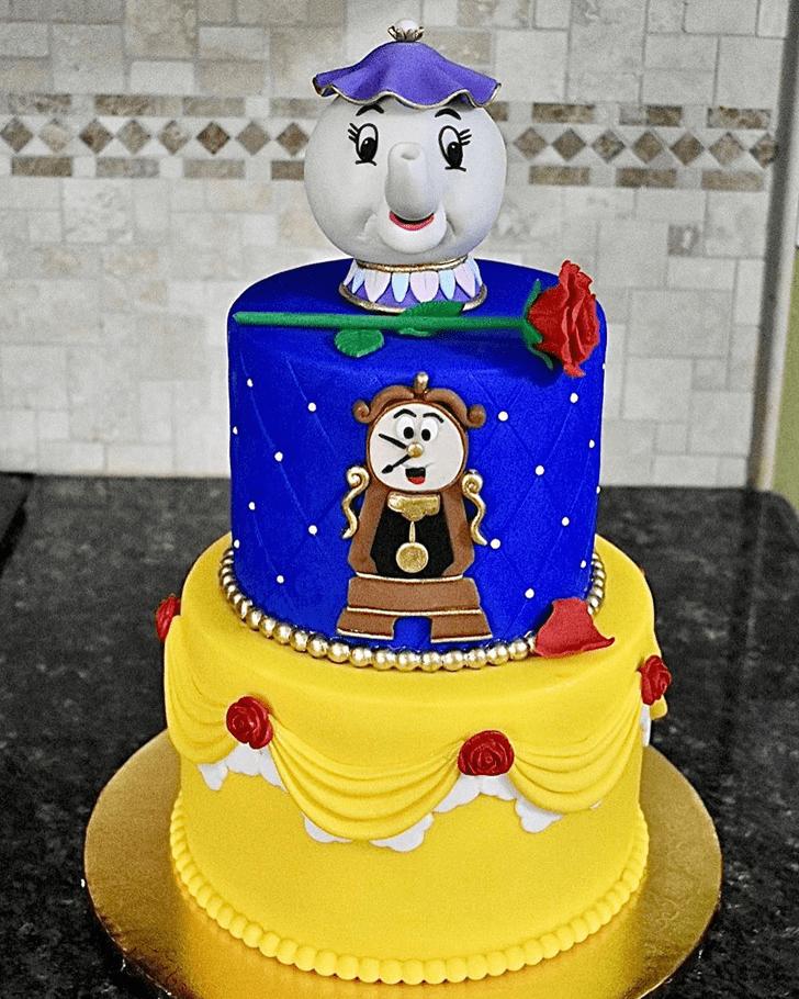 Fine Beauty and the Beast Cake