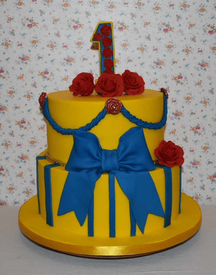 Ideal Beauty and the Beast Cake