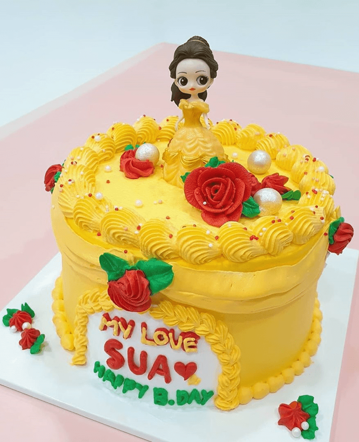 Magnetic Beauty and the Beast Cake