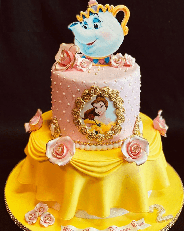 Mesmeric Beauty and the Beast Cake