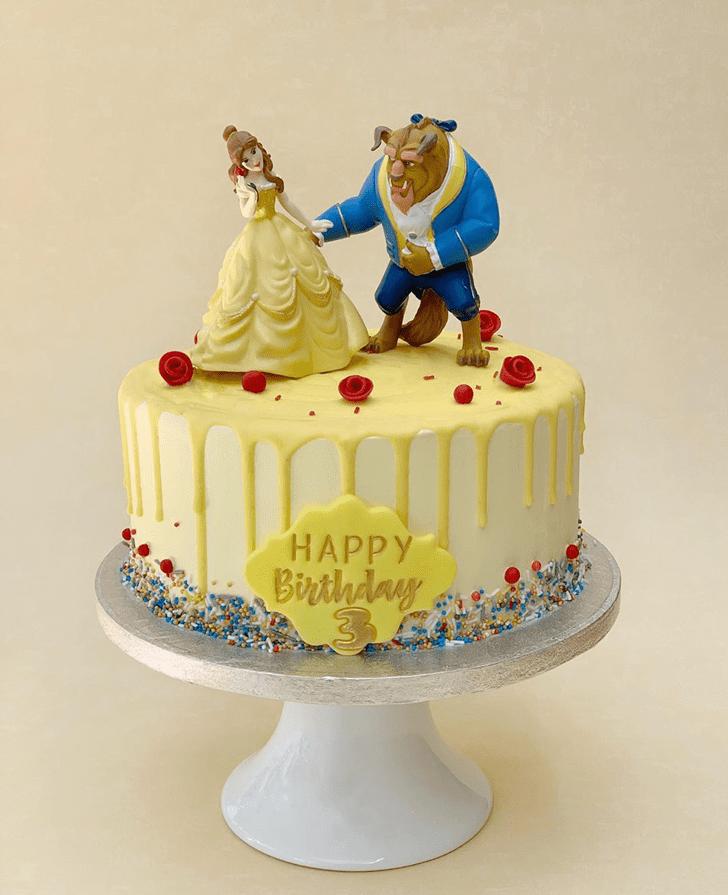 Slightly Beauty and the Beast Cake